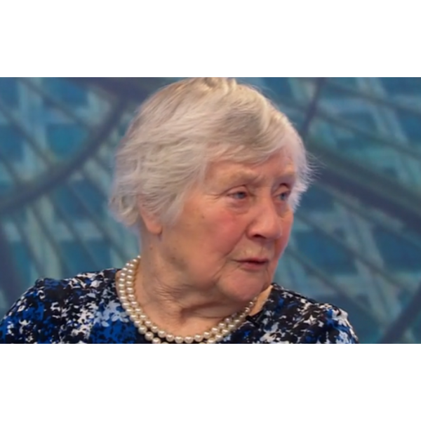 Shirley Williams at retirement