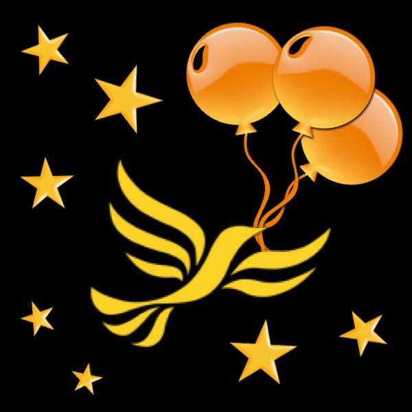By-election celebration