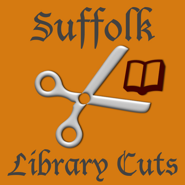 Proposed cuts to library funding in Suffolk