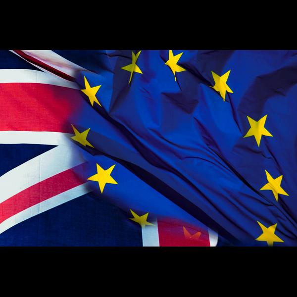 Brexit Euro&Union Jack