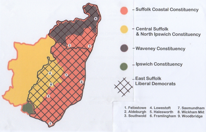 Suffolk constituencies