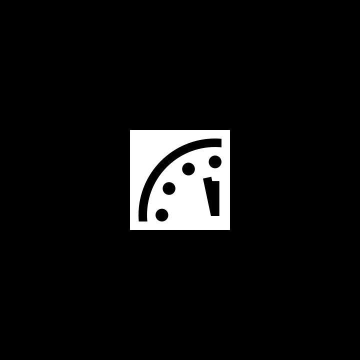 2 minutes to midnight Ryanicus GirraficusCC0 1.0 Universal Public Domain