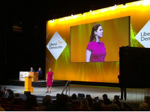 Jo Swinson at Conference Spring 2015