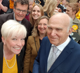 Barbara Gibson and euro candidates with Vince in Chelmsford ()