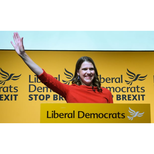 Jo Swinson - Lib Dem leader