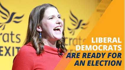 Jo Swinson we are ready for an election