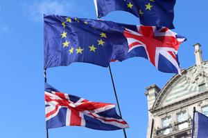 EU - UK Flags