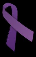 domestic abuse * CC BY-SA 3.0Purple ribbon.svg (https://commons.wikimedia.org/wiki/User:MesserWoland)