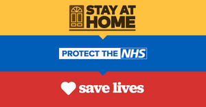 Stay Home Save Lives NHS