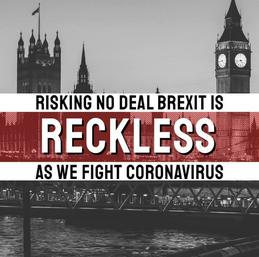 Reckless no-deal Brexit ()