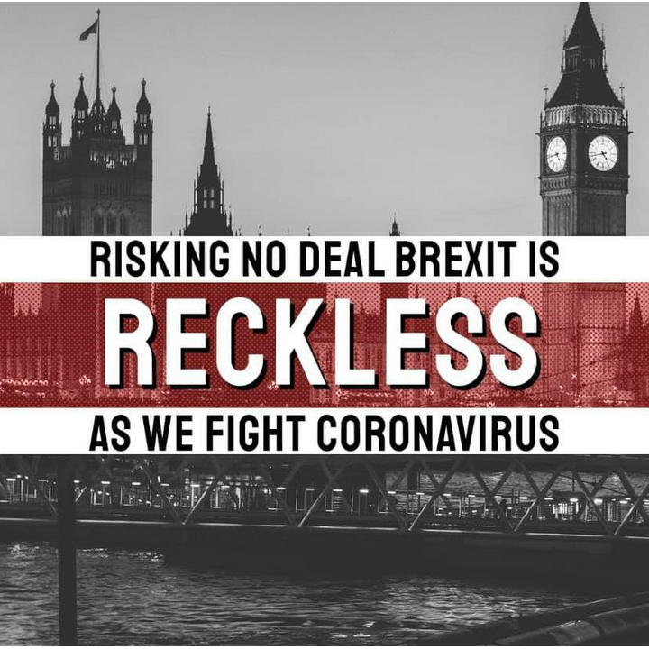 Reckless no-deal Brexit ()