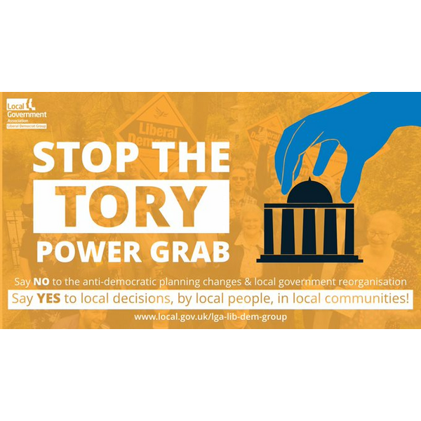 Stop the Tory Power Grab in planning