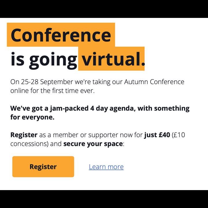 Register for Conference