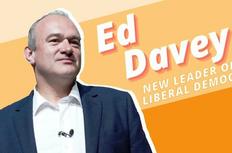 Ed Davey MP, Lib Dem Leader